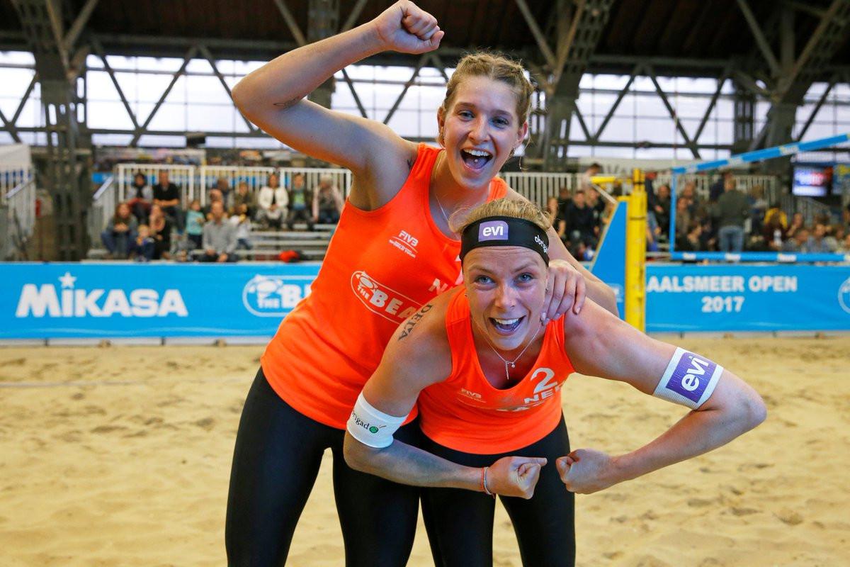 Dutch delight as home duo reach women's final at FIVB Beach World Tour Aalsmeer Open