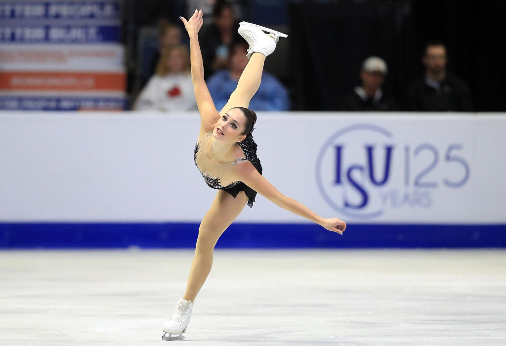 Kaetlyn Osmond won one of three Canadian gold medals ©ISU