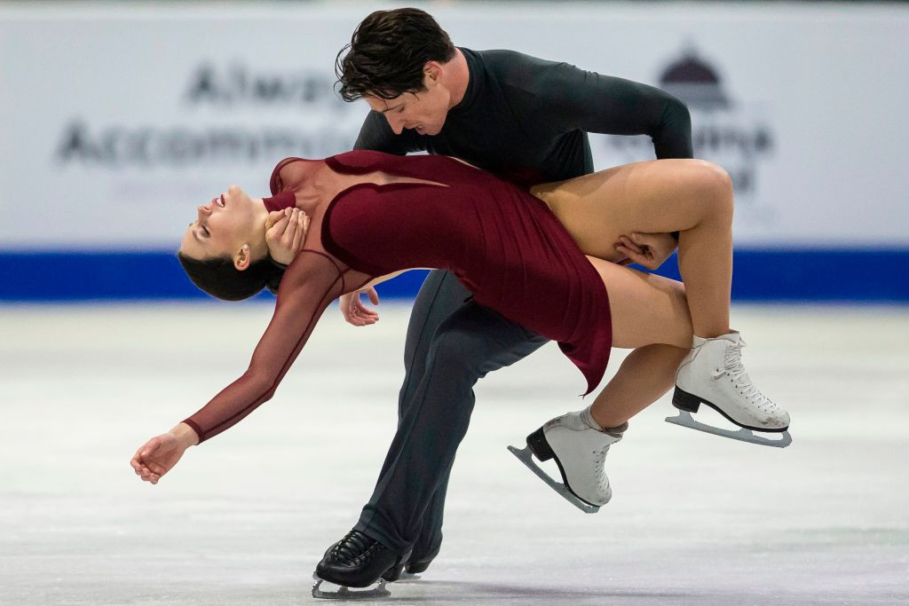 Canada's Tessa Virtue and Scott Moir set another world record breaking score ©ISU