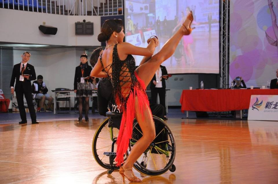 Belgium's Cox to represent athletes on World Para Dance Sport Committee