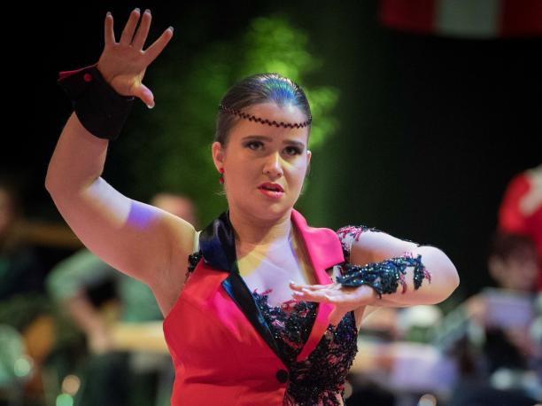 Sofie Cox, from Belgium, was elected as World Para Dance Sport's Athlete Representative at Malle 2017 ©World Para Dance Sport