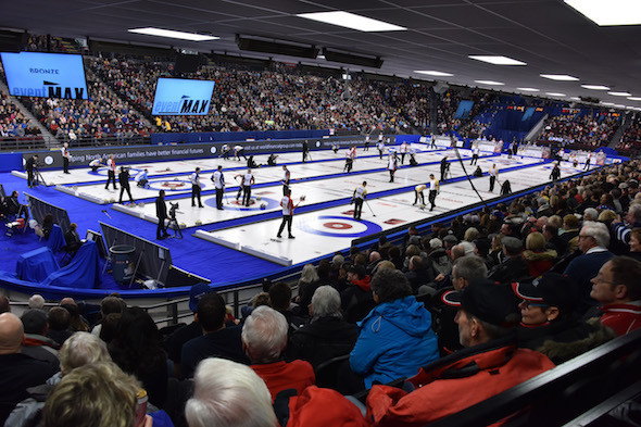 Curling fans will be able to watch live streamed games from five championship events on CBC Sports Curling Canada ©Curling Canada