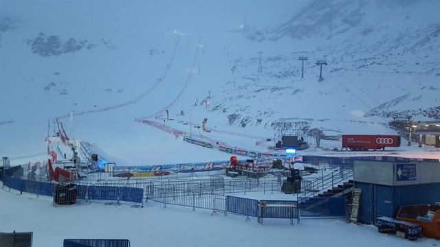 Storm forces cancellation of men's giant slalom at FIS Alpine Skiing World Cup in Soelden