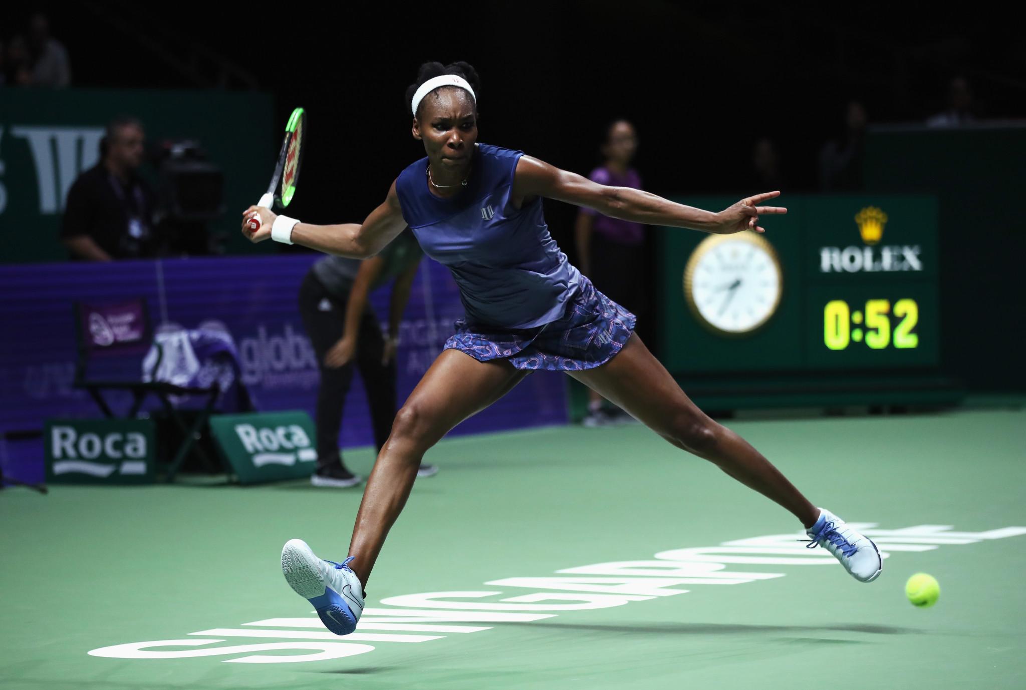 America's Venus Williams battled hard but was ultimately well beaten by her Danish opponent Caroline Wozniacki ©Getty Images