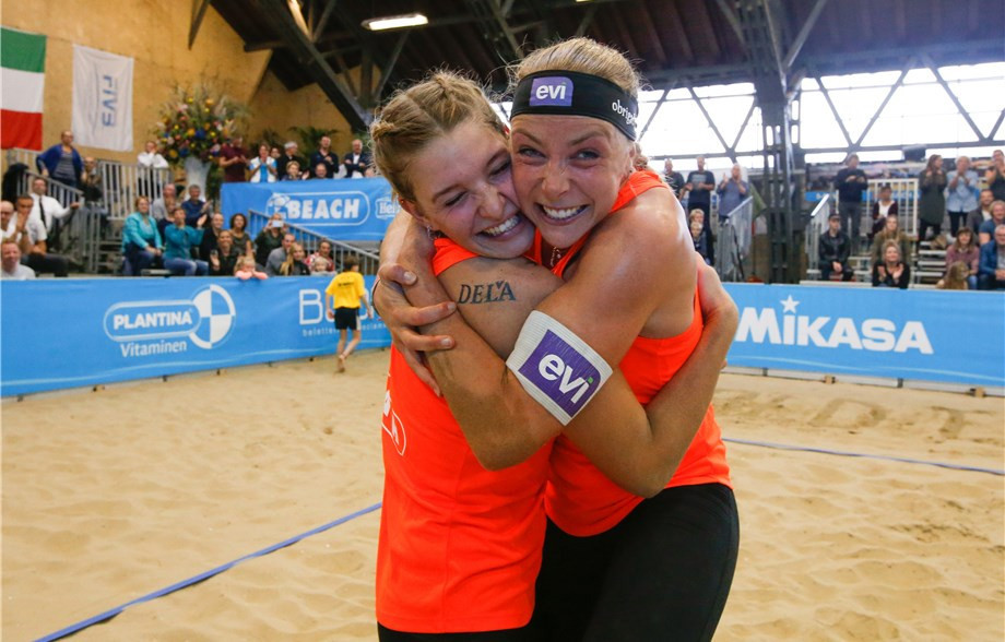 Stubbe and Meppelink claim home gold at FIVB Beach World Tour Aalsmeer Open