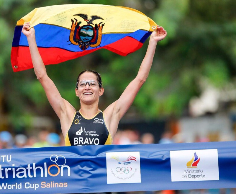 Bravo for home favourite after taking ITU World Cup spoils in Ecuador