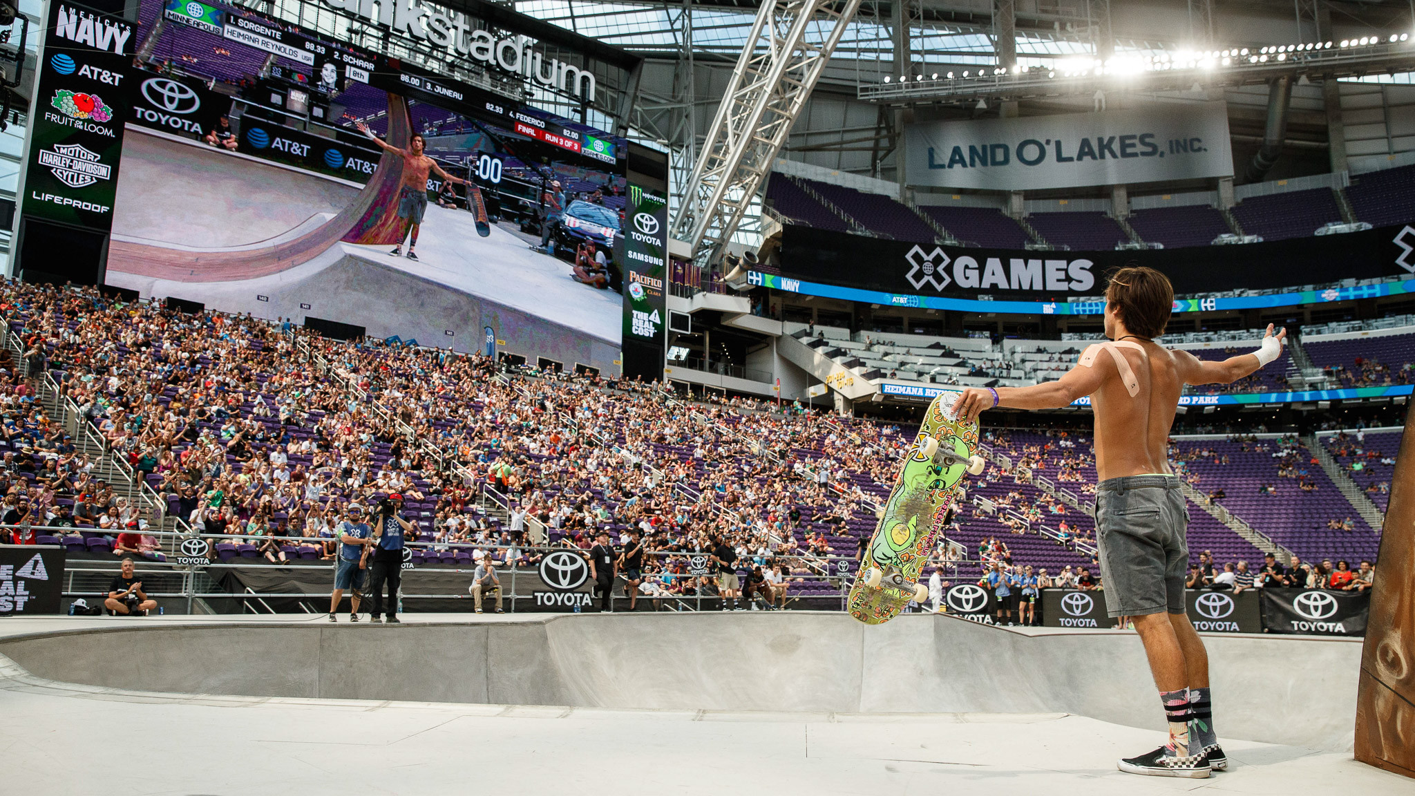 This year's X Games in Minneapolis attracted a six-figure crowd ©X Games ESPN