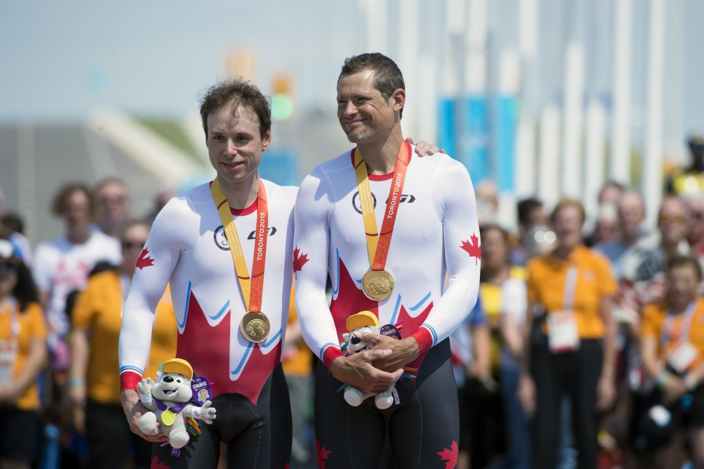 Daniel Chalifour and pilot Alexandre Cloutier earned their third gold of the Games