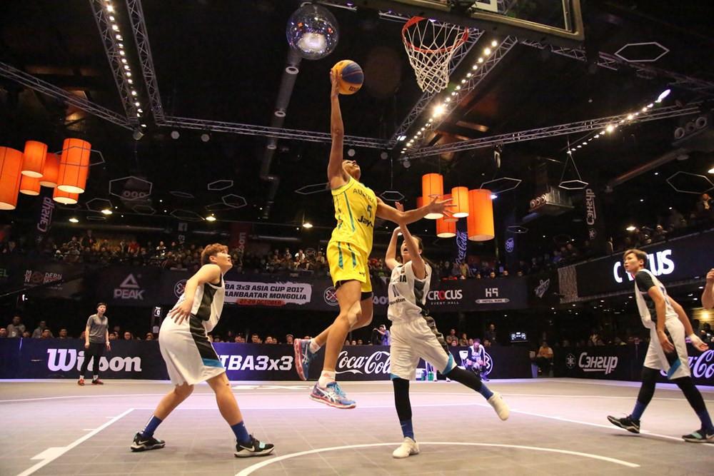 Australia overcame Malaysia in the women's 3x3 final ©FIBA