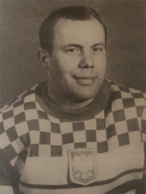 Kazimierz Chodakowski was an acclaimed defenceman for Poland ©PZHL