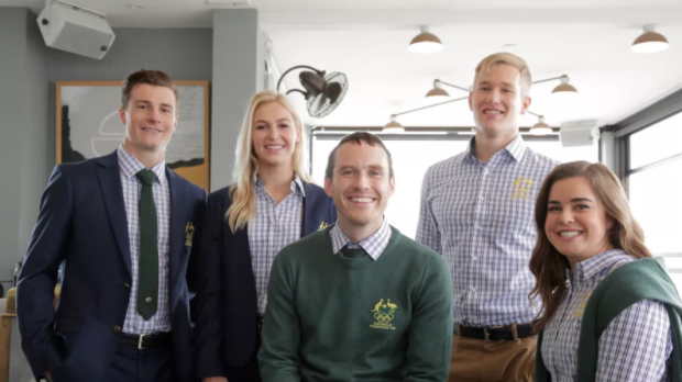 Australian formal team uniforms have been unveiled for Pyeongchang 2018 ©AOC