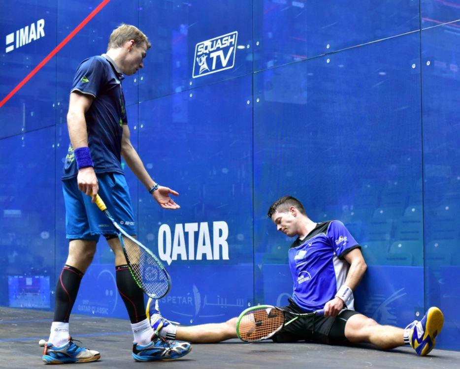 Matthew battles into round two at PSA Qatar Classic