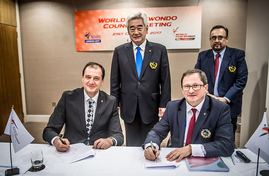 Taekwondo Humanitarian Foundation signs agreement to manage academy in Turkey