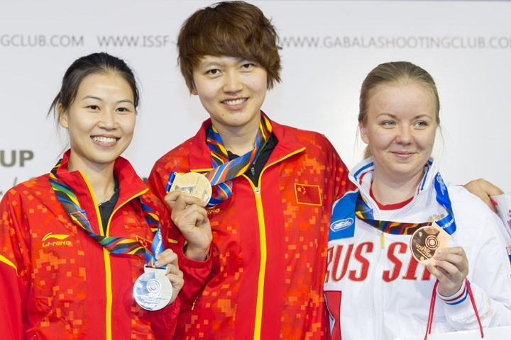China move to top of ISSF World Cup medal standings after adding two more to haul
