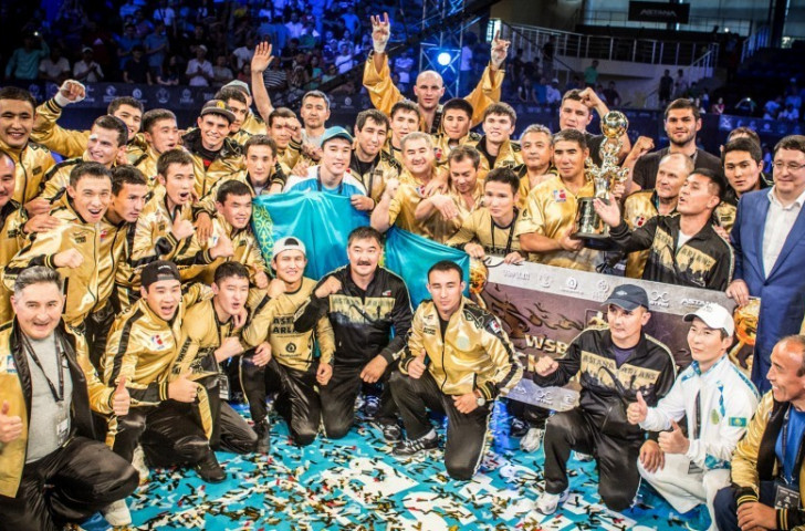 Astana Arlans Kazakhstan won last season's World Series of Boxing Championship