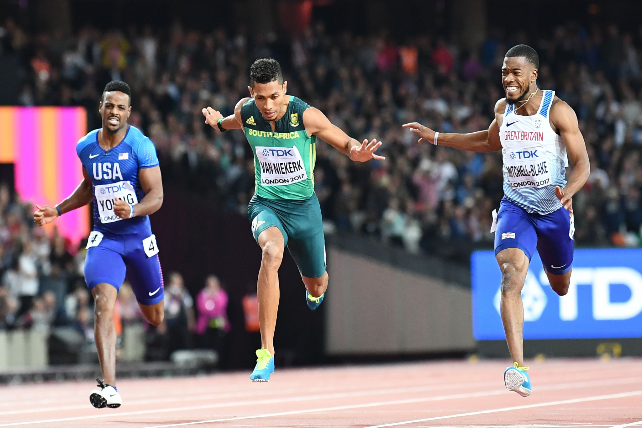 South Africa's Wayde van Niekerk had hoped to compete in the 100 and 200m in Gold Coast ©Getty Images