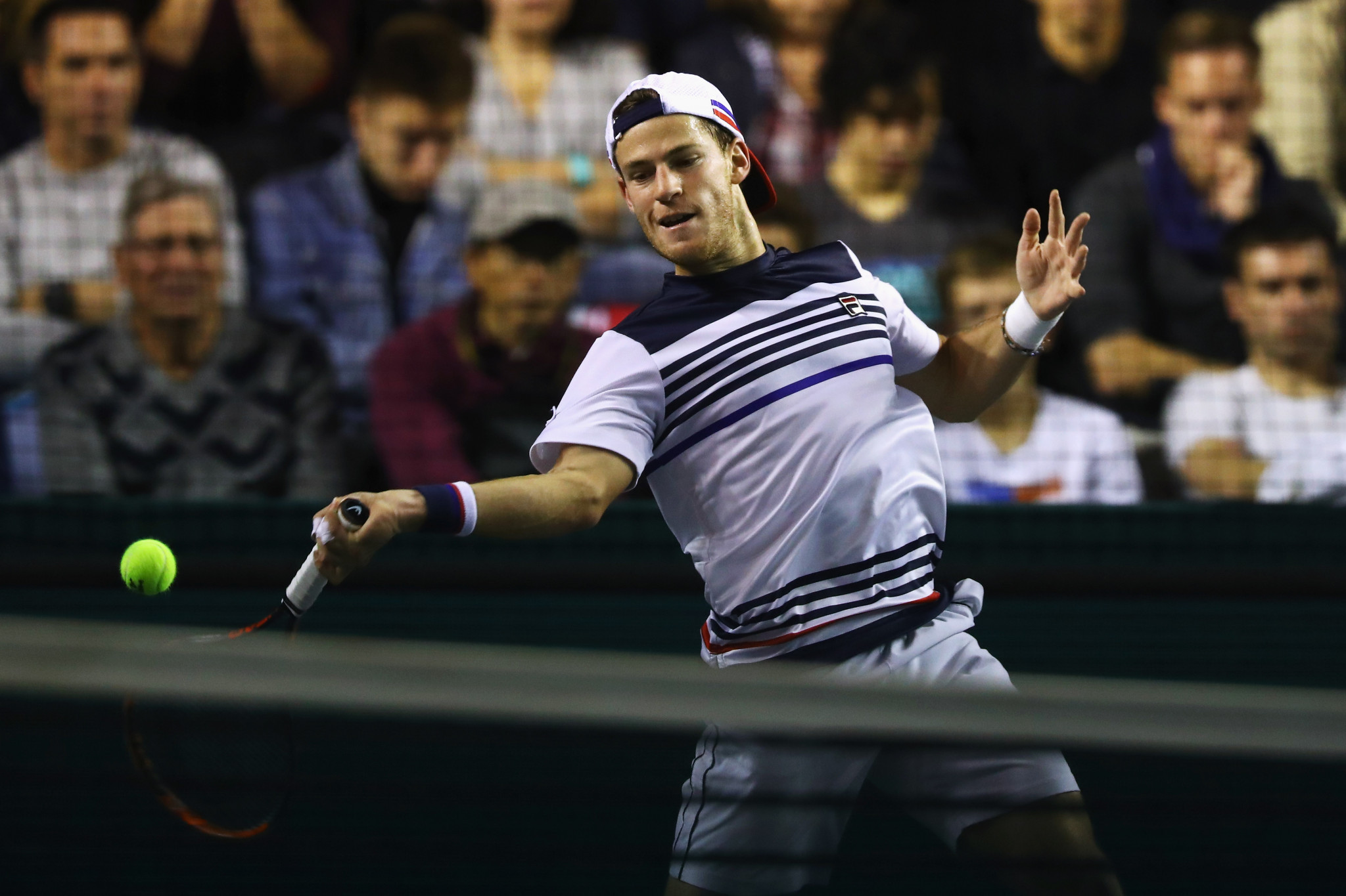 Argentina's Diego Schwartzman won his match at the Paris Masters today ©Getty Images