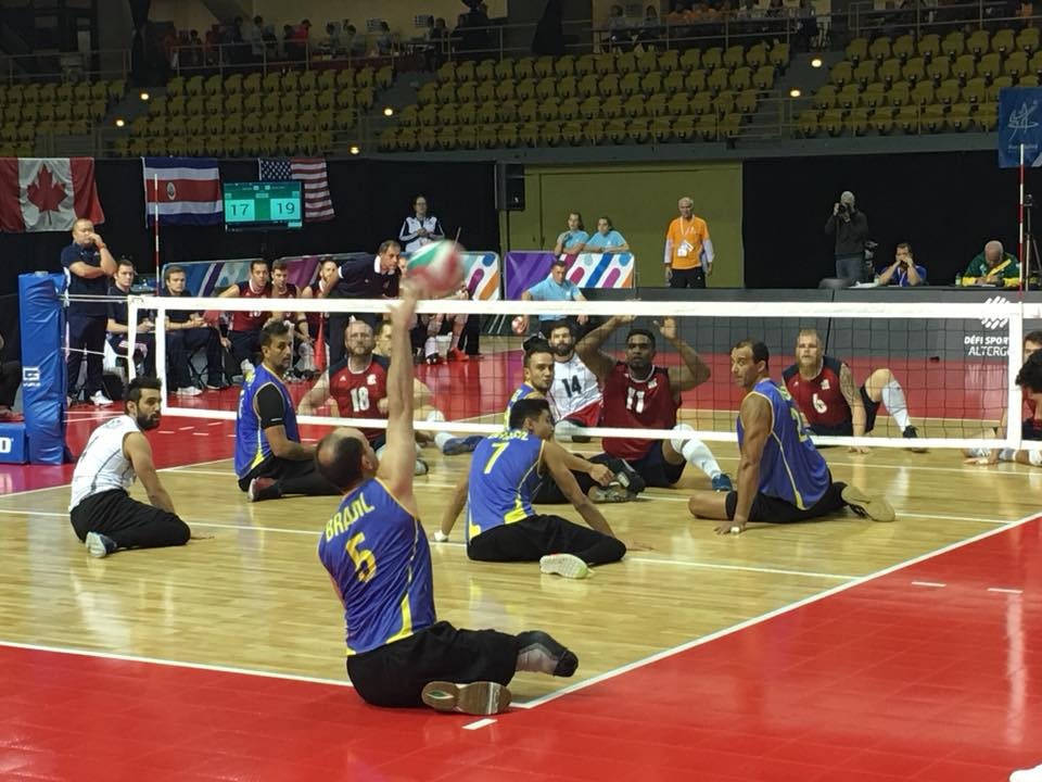 Brazil and the US were dominant at the ParaVolley Pan America Championships in Montreal ©worldparavolleypanam