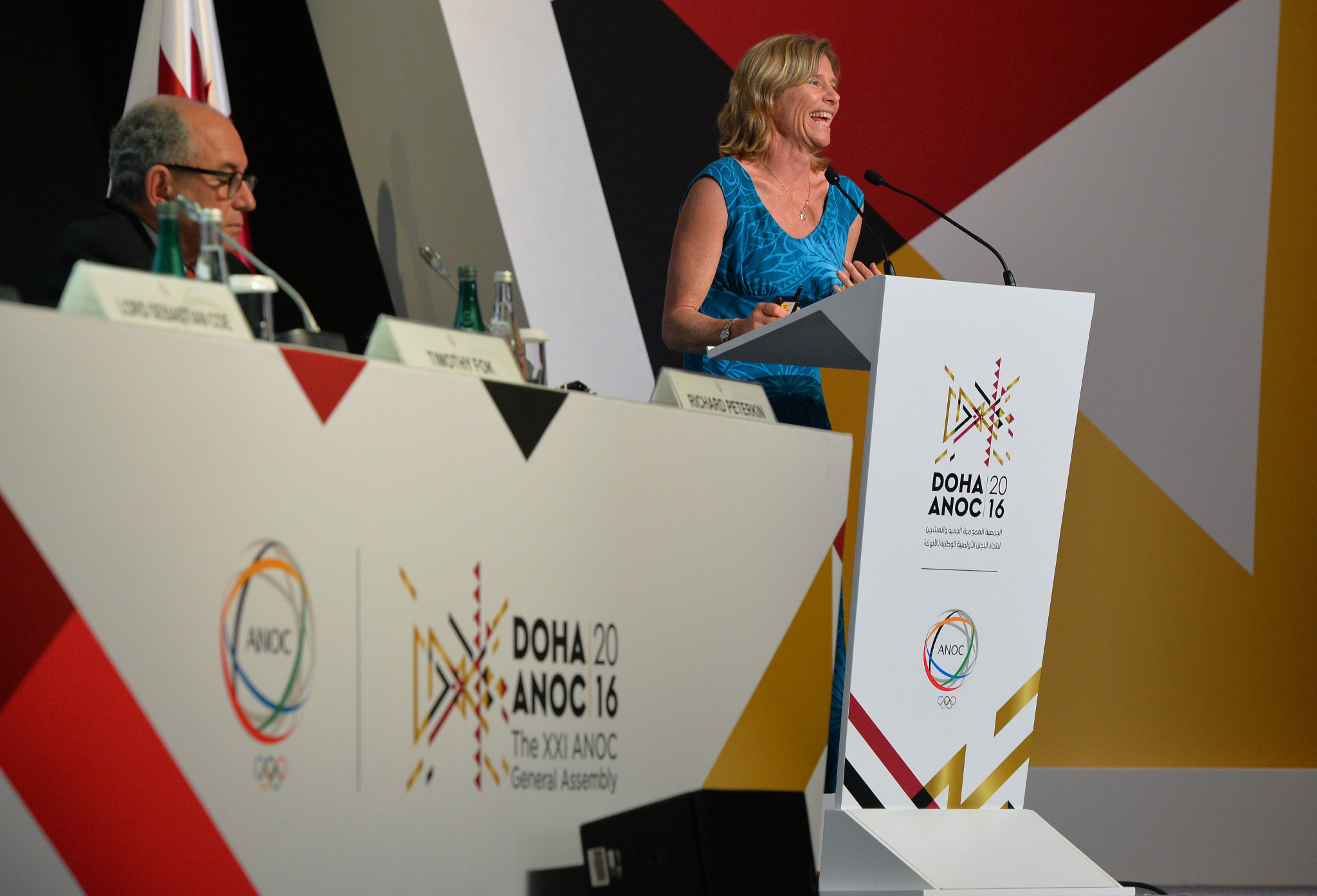 Kendall to remain chair of ANOC Athletes' Commission for fifth year