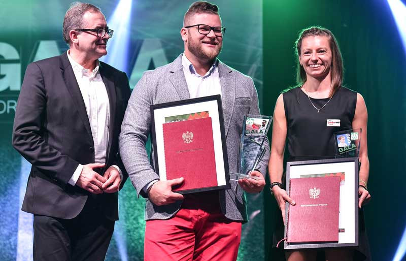 Linkiewicz among those honoured by Polish University Sports Association after winning country's 500th medal at Universiade