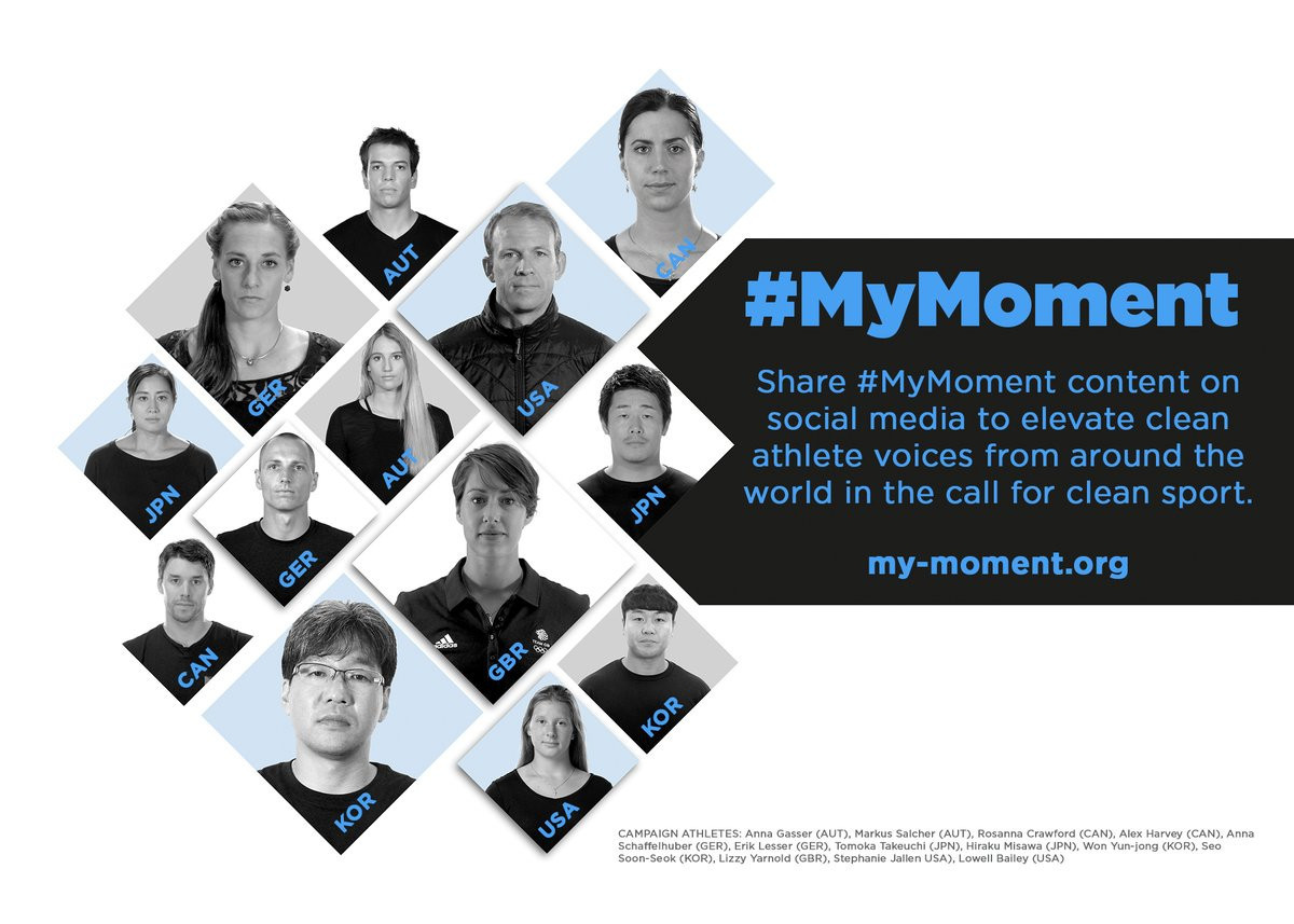 A #MyMoment campaign has been launched by athletes due to compete at Pyeongchang 2018 ©MyMoment