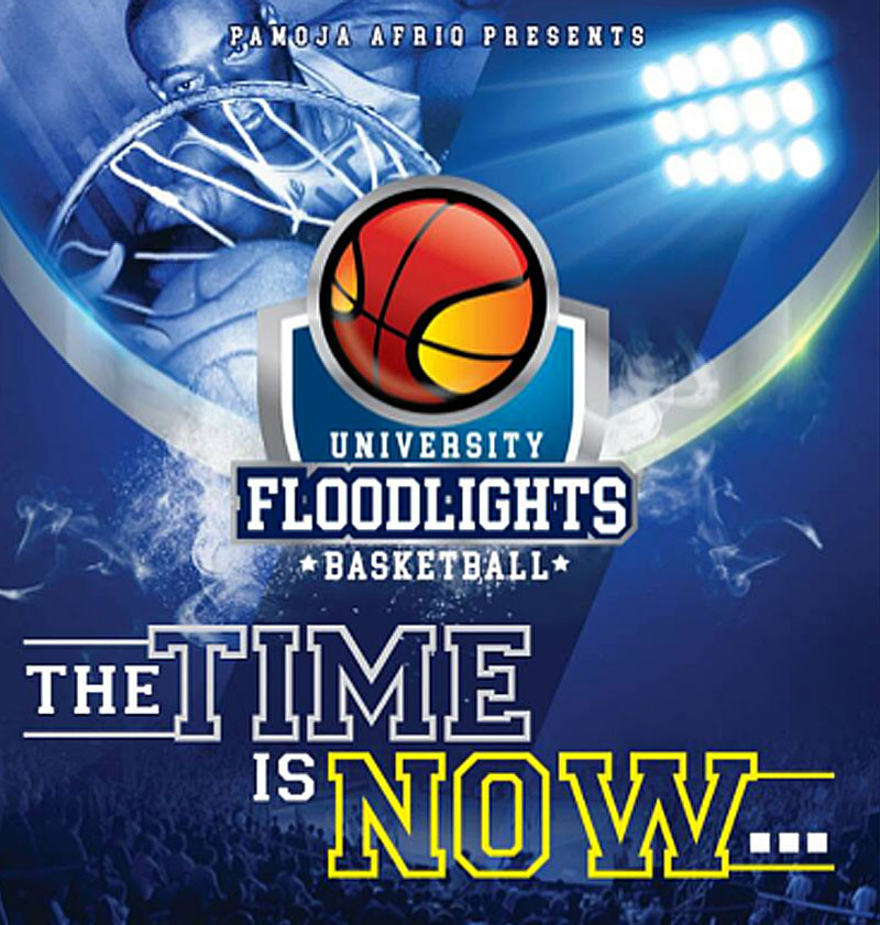 The University Floodlights Basketball competition is the first of its kind ©University Floodlights Basketball