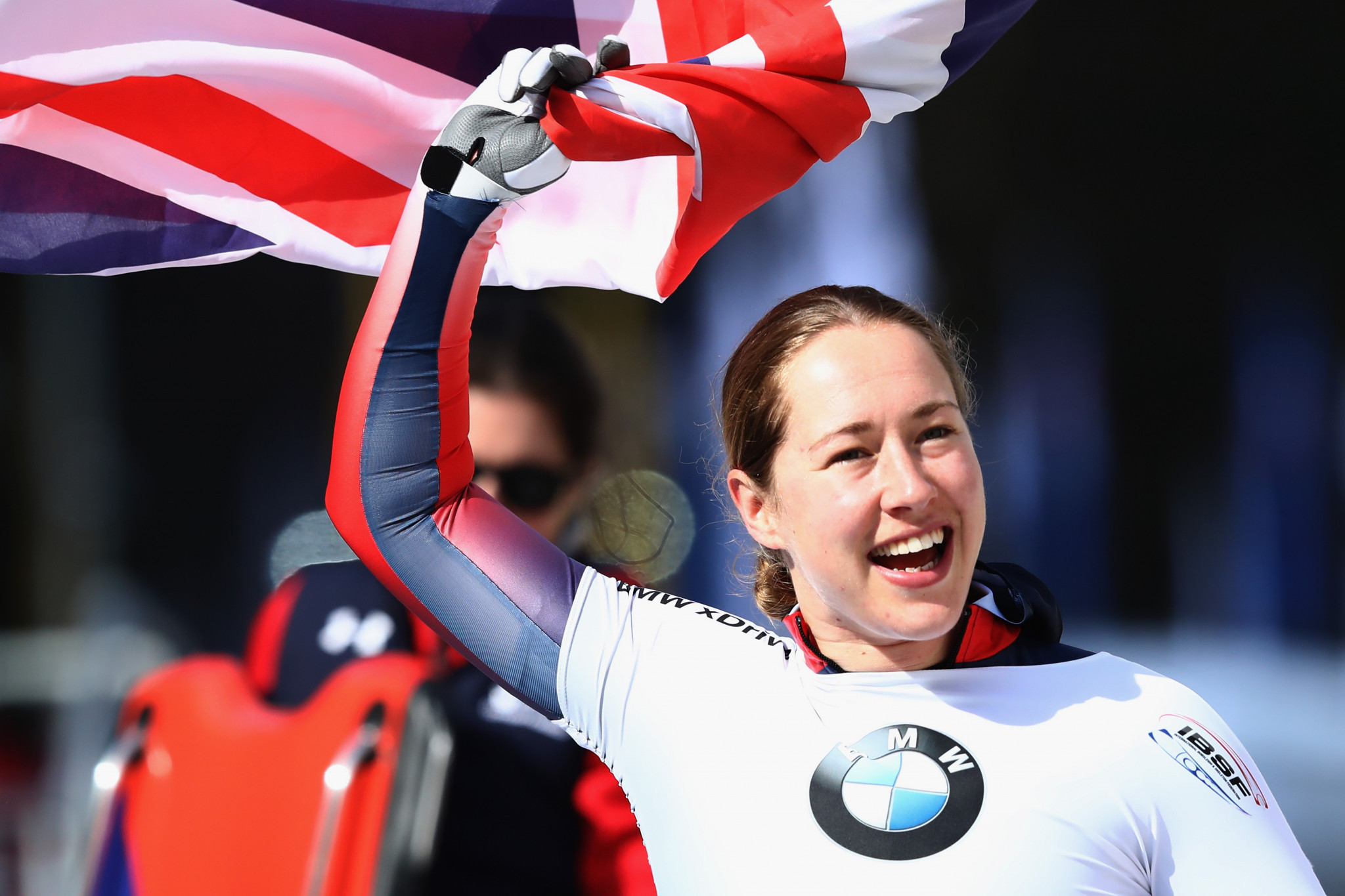 Britain's Olympic skeleton champion Lizzy Yarnold is among athletes to sign up to the #MyMoment campaign ©Getty Images