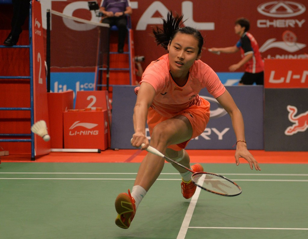 China left without medal in women's singles at Badminton World Championships for first time ever after Wang defeated