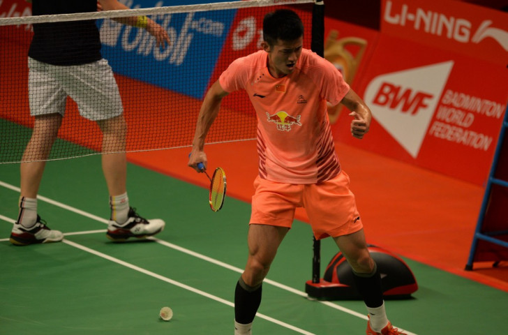 China's Chen Long, the top seed in the men's singles, beat Denmark's Viktor Axelsen