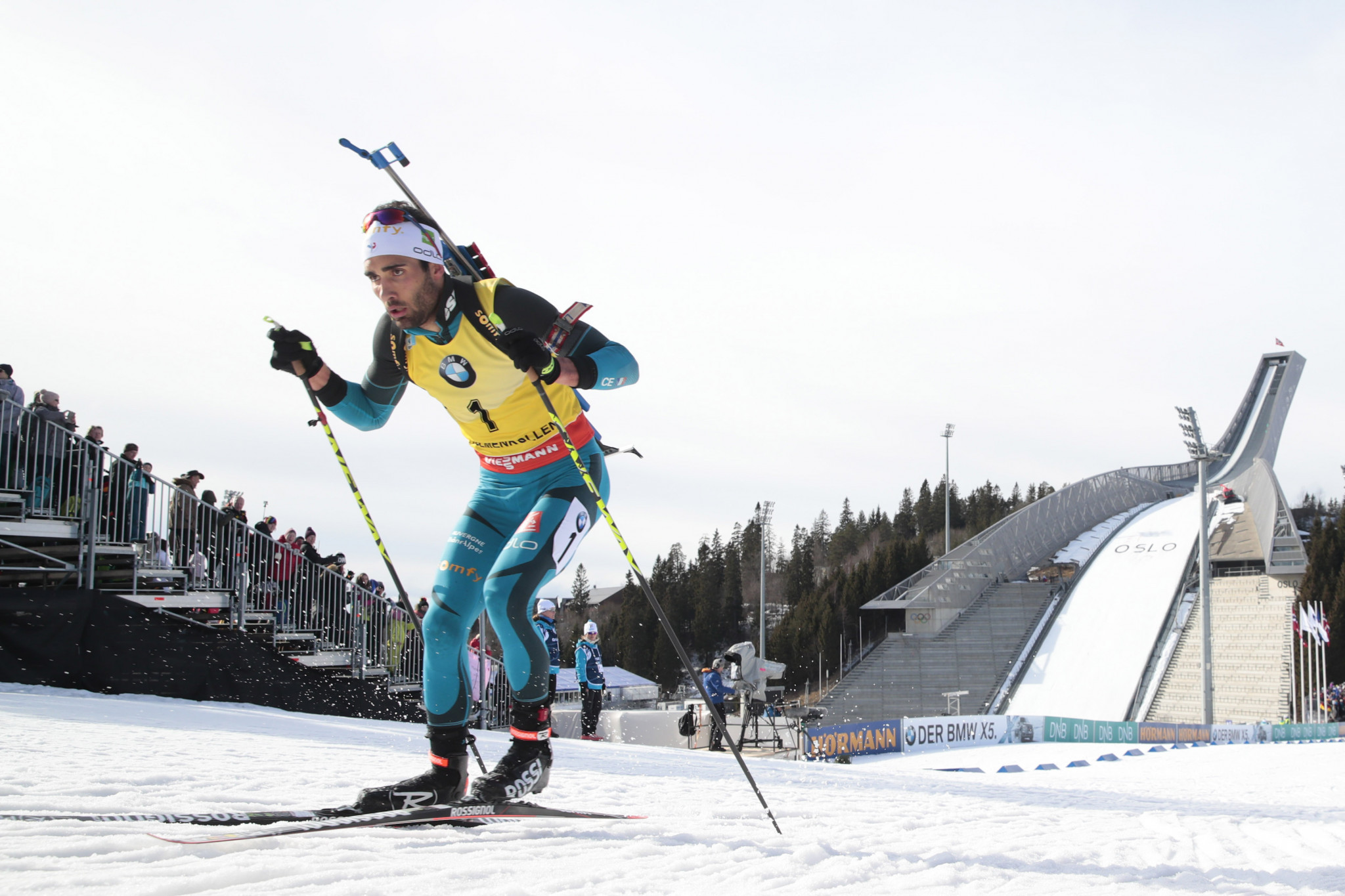 Fourcade cleared to compete after blood tests reveal he has not contracted a virus