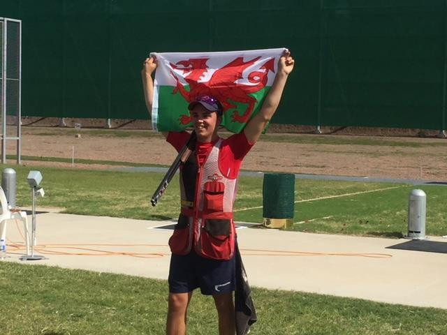Llewellin clinches men's skeet gold at Oceania and Commonwealth Shooting Federations' Championships
