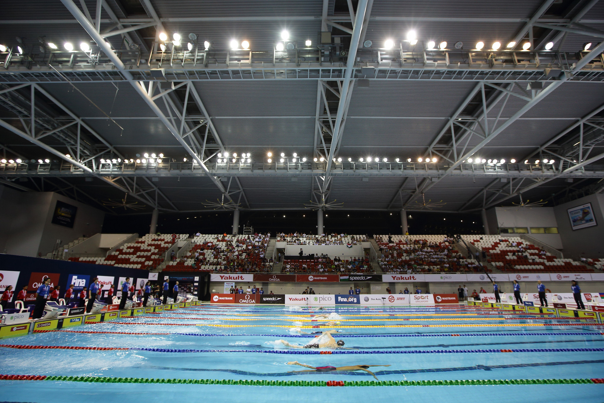 Swimmers have been warned against competing at a potential rival event ©Getty Images