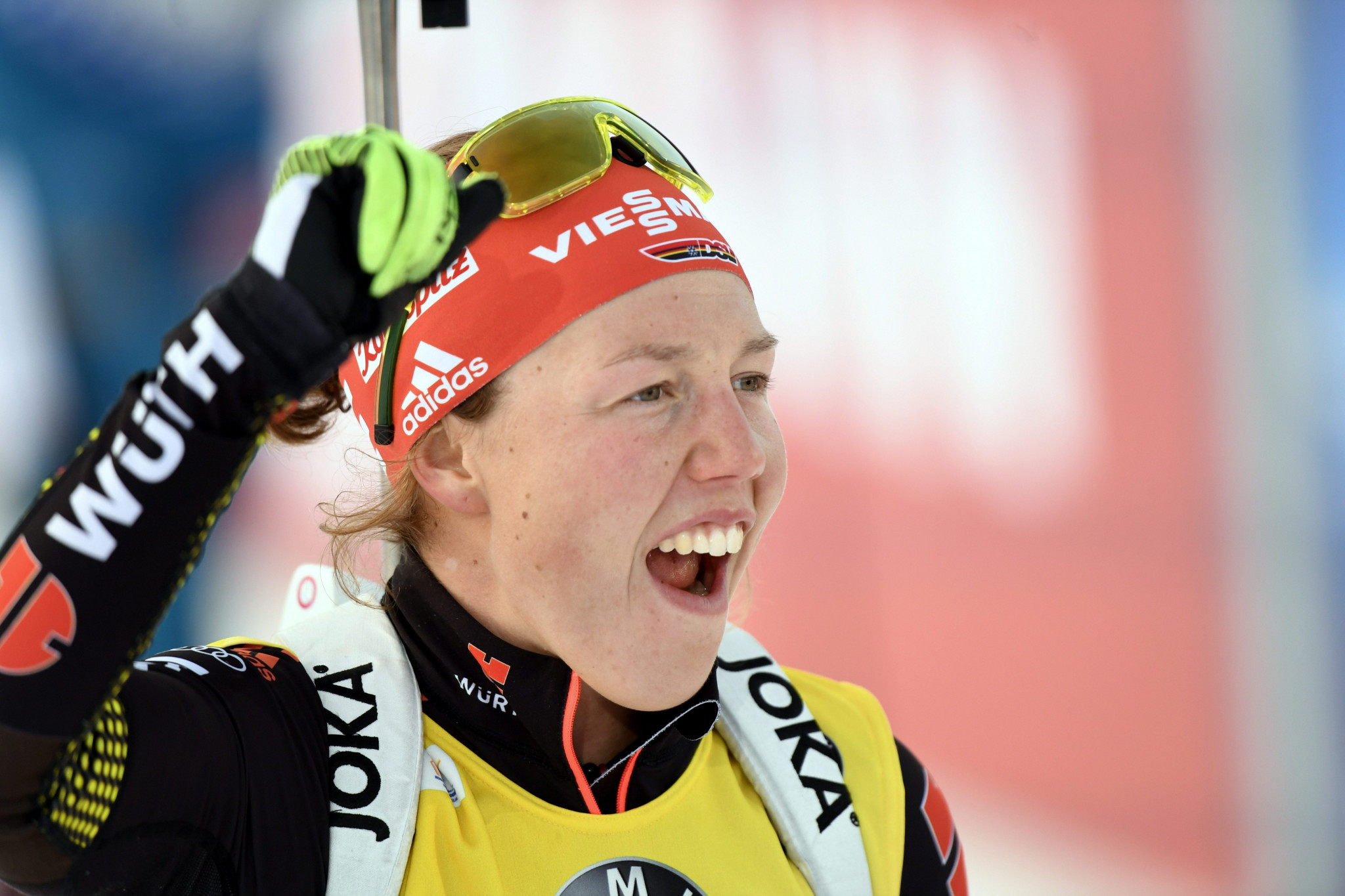 Laura Dahlmeier of Germany is predicted to lead the individual medal count at the 2018 Winter Olympics by data analysts ©Getty Images