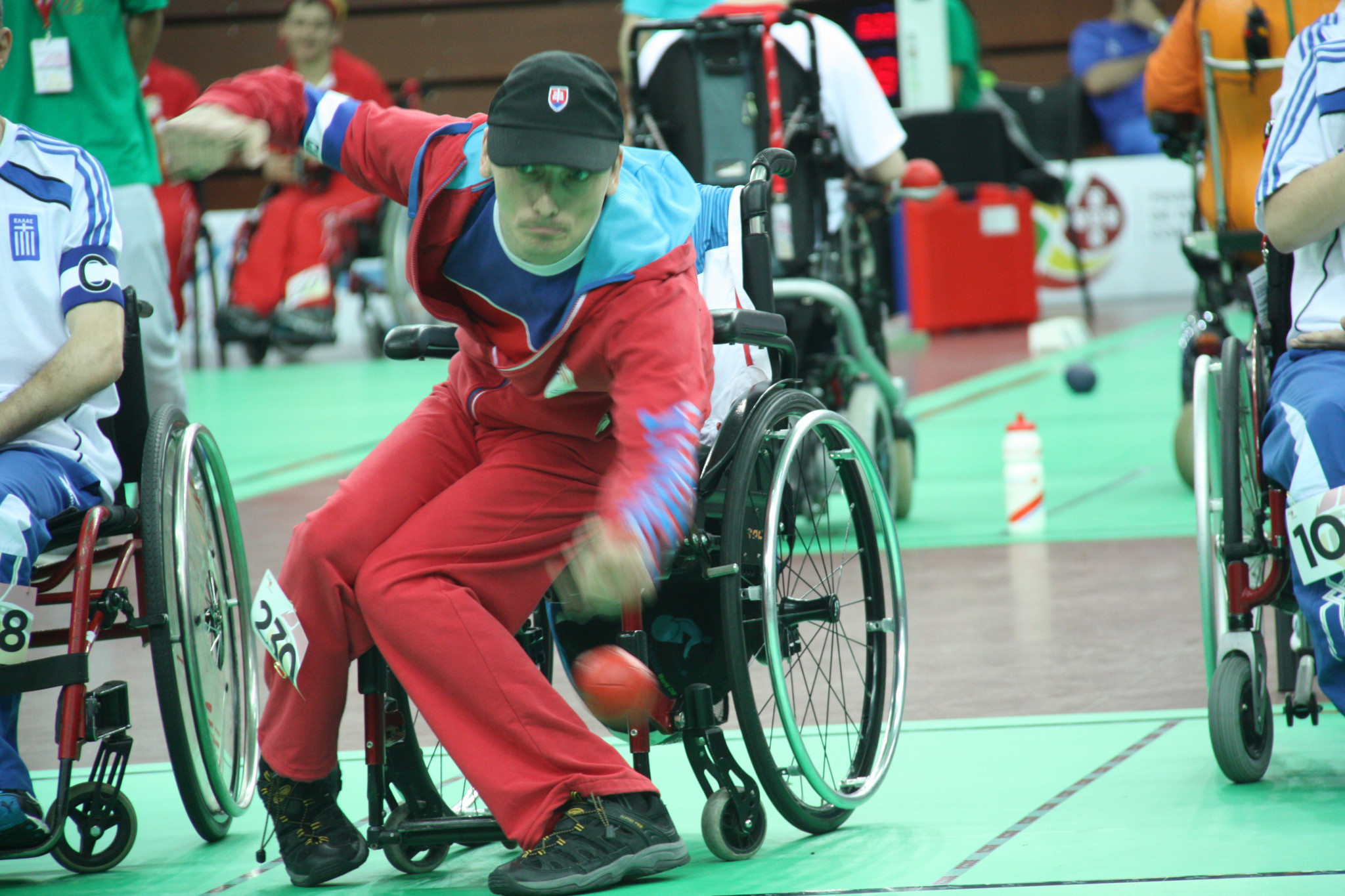 Home favourite triumphs as Britain claim three golds at European Boccia Championships