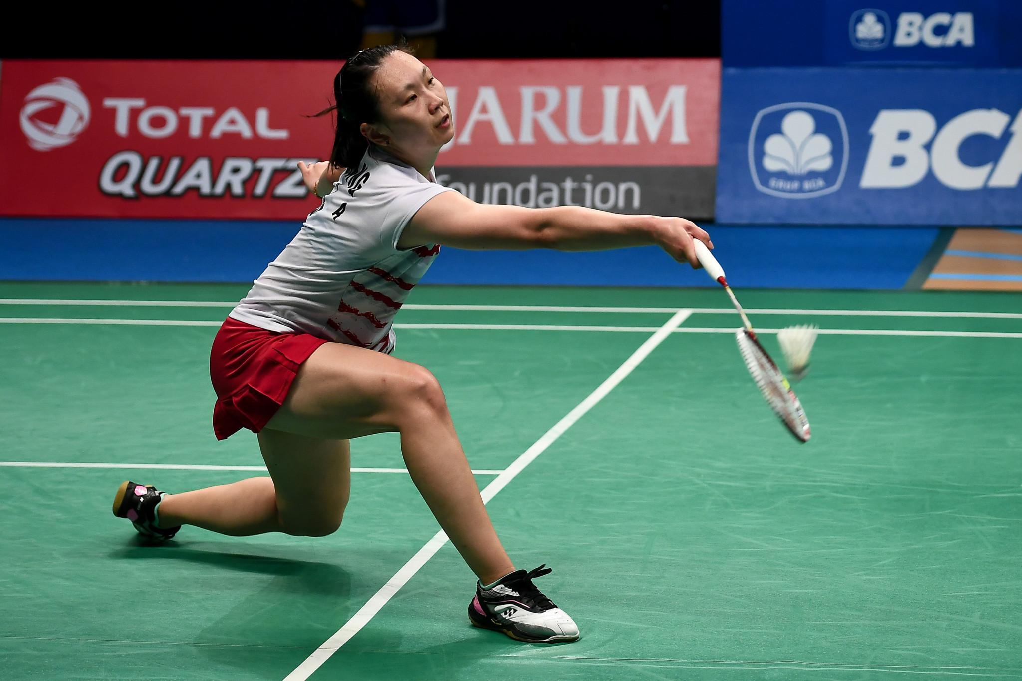 Zhang battles back to reach quarter finals at BWF Bitburger Open
