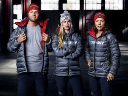 Germany's uniform for the 2018 Winter Olympic and Paralympic Games has been unveiled today ©DOSB