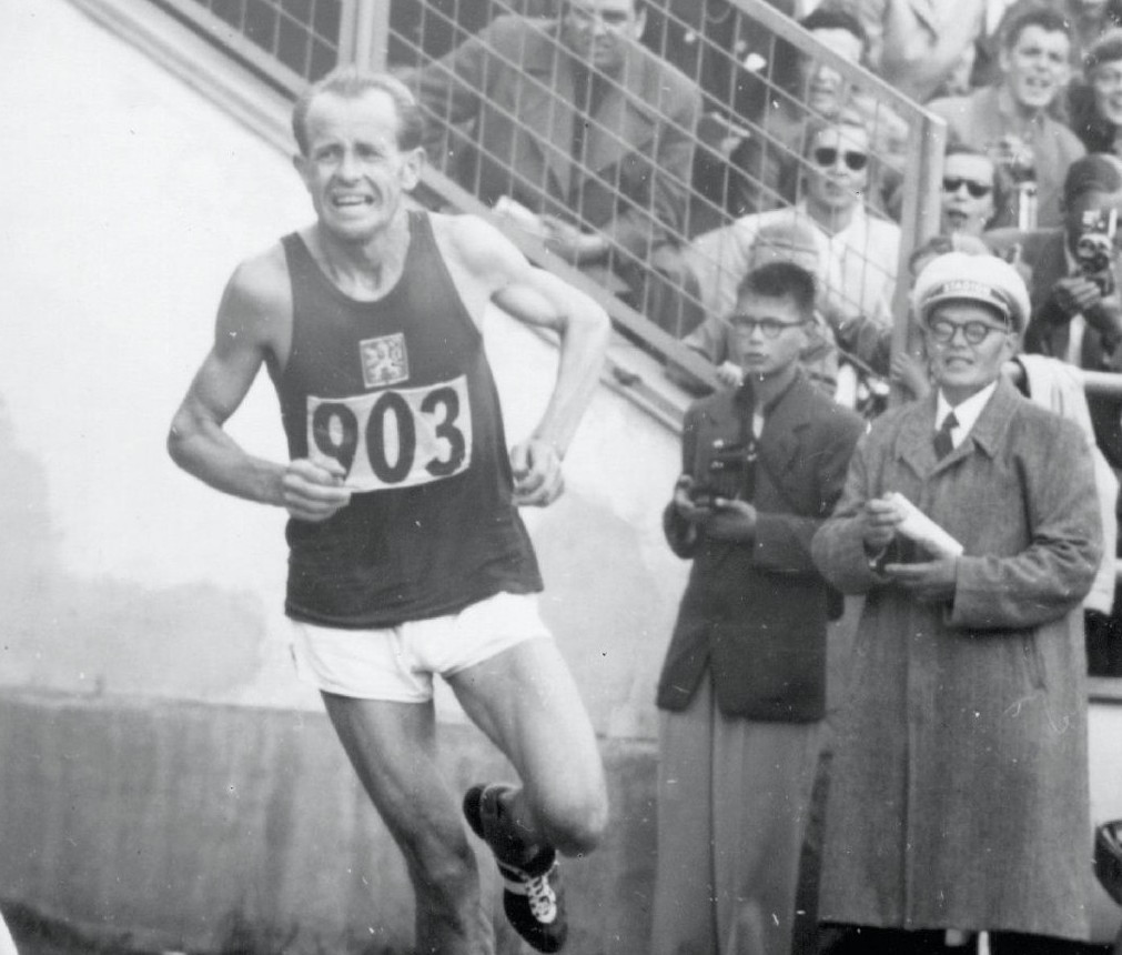 IAAF Heritage will be established to help preserve athletics' long history and tell the stories of heroes like Emil Zatopek, the four-time Olympic gold medallist, including three at Helsinki 1952 ©Getty Images