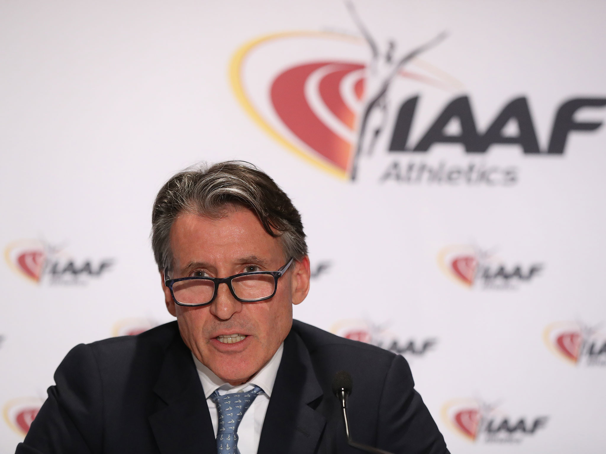 The conduct of IAAF President Sebastian Coe is criticised by the report ©Getty Images
