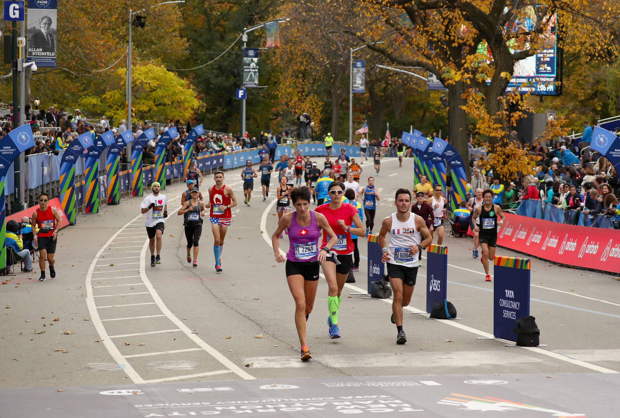 Police have said this weekend's New York City Marathon will take place amid heightened security ©Getty Images