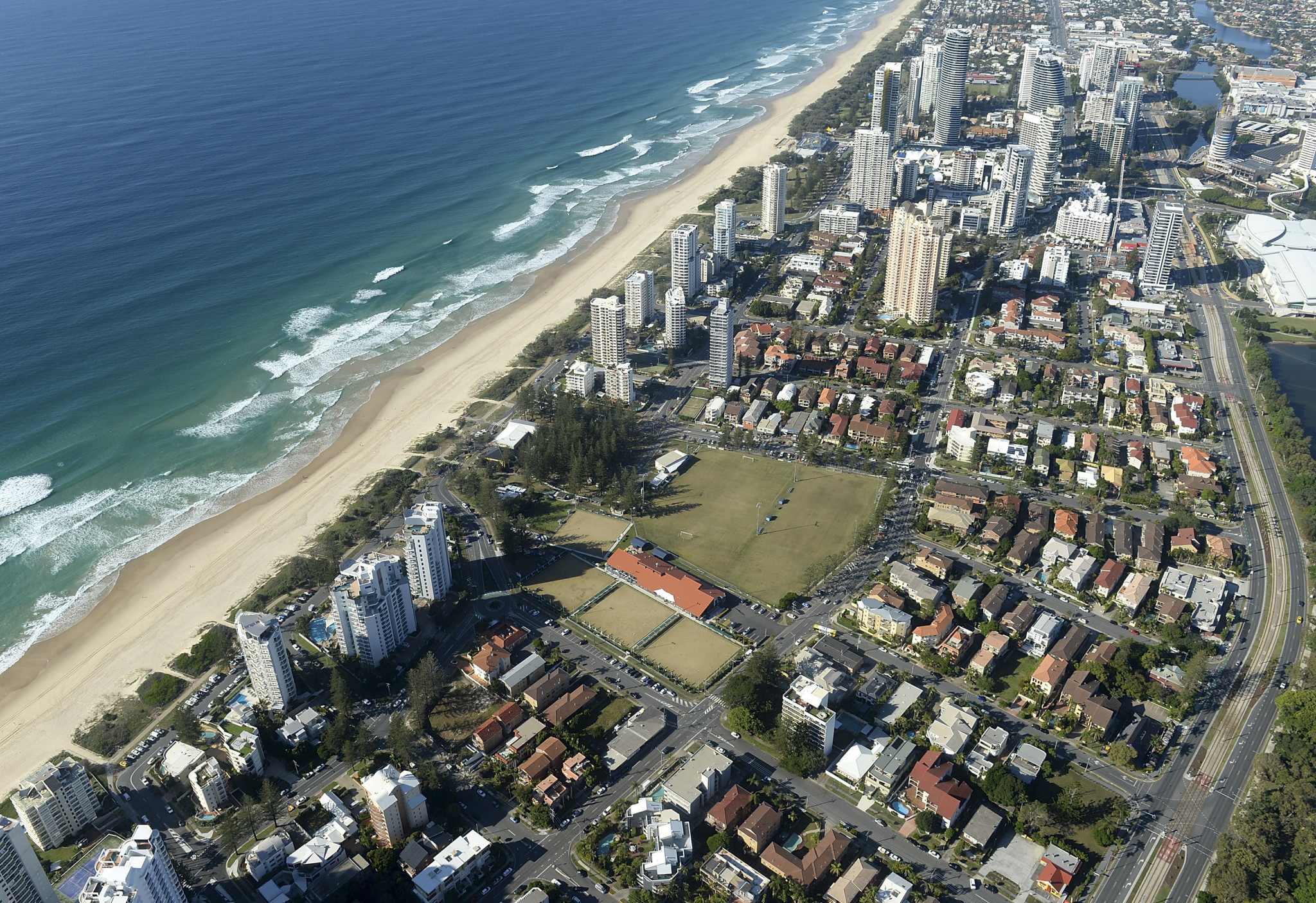 Defence helicopters and aircraft are set to conduct flights over Gold Coast prior to the Games to ensure they can operate safely in built up areas ©Getty Images