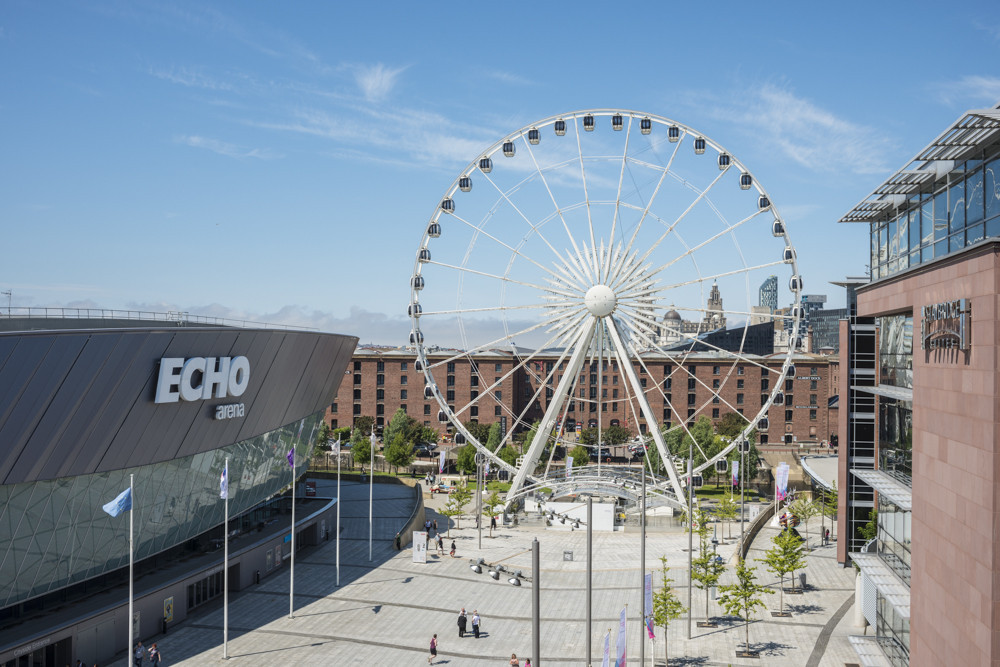 Liverpool's Echo Arena will host the 2019 Netball World Cup  ©Echo Arena