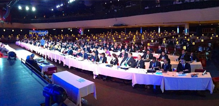 The IFBB Congress analysed different projects and suggestions about rules and organising matters ©IFBB