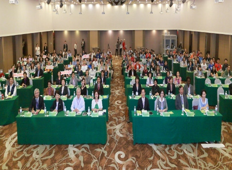 Delegates at the Women in Sport conference in Chinese Taipei ©Olympic Council of Asia