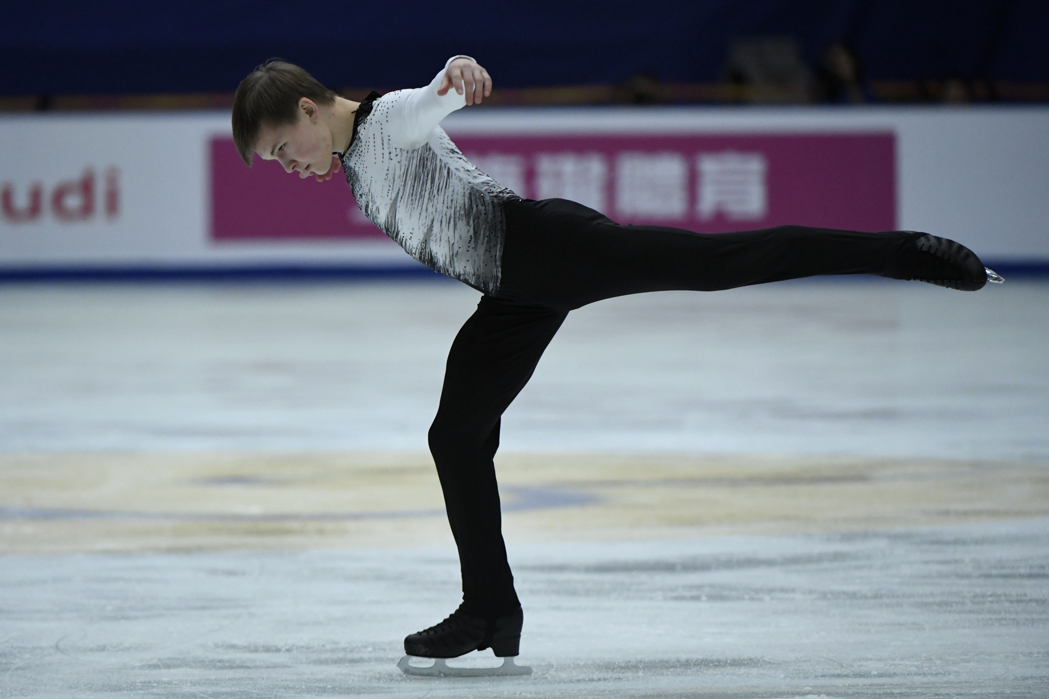 Russia's Mikhail Kolyada is the surprise leader in the men's singles event ©Getty Images