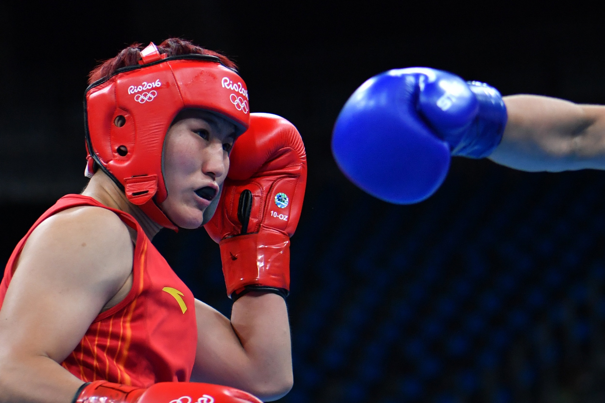 Rio 2016 silver medallist Yin comes through hard-fought opener at Asian Women's Boxing Championships