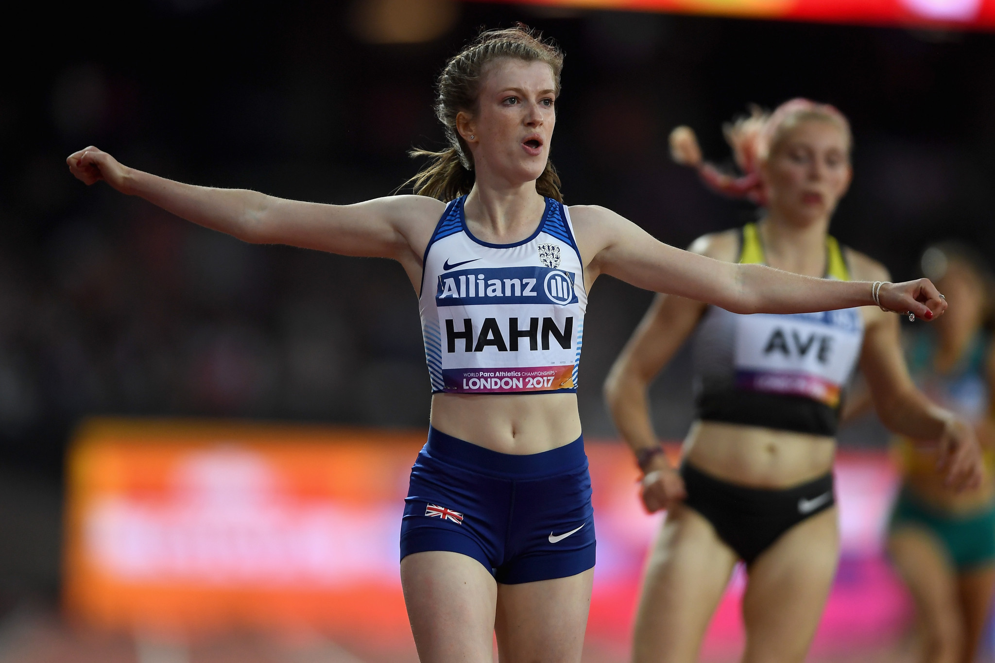 Craig Spence criticised the father of Paralympian Olivia Breen, Michael, who had used parliamentary privilege to name Sophie Hahn as a British athletes he believes is benefiting from being in the wrong class ©Getty Images
