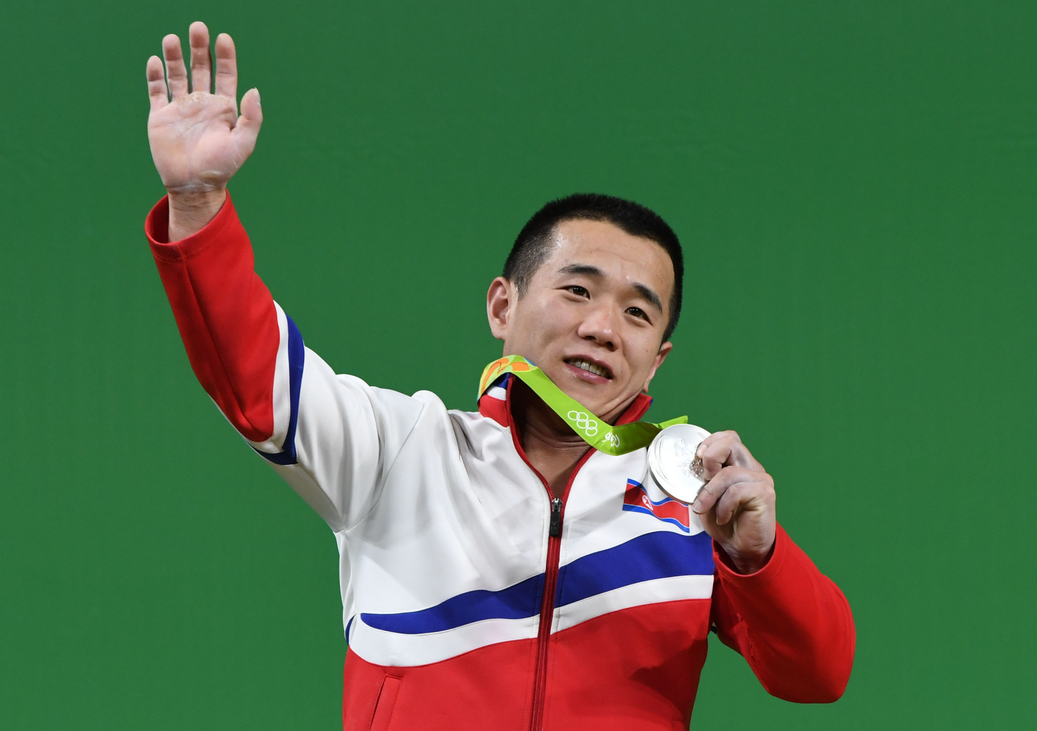 Om Yun Chol had been expected to bring North Korea a medal at Anaheim ©Getty Images