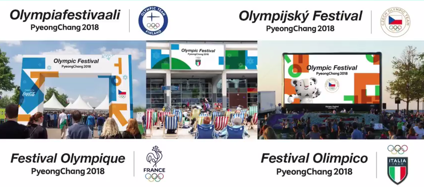 IOC to launch pilot Olympic Festivals project in eight countries for Pyeongchang 2018