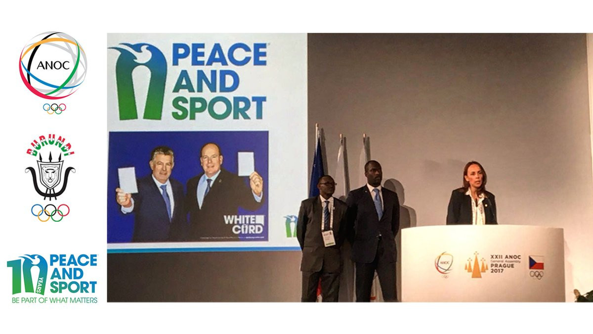 Peace and Sport showcase Friendship Games work at ANOC General Assembly