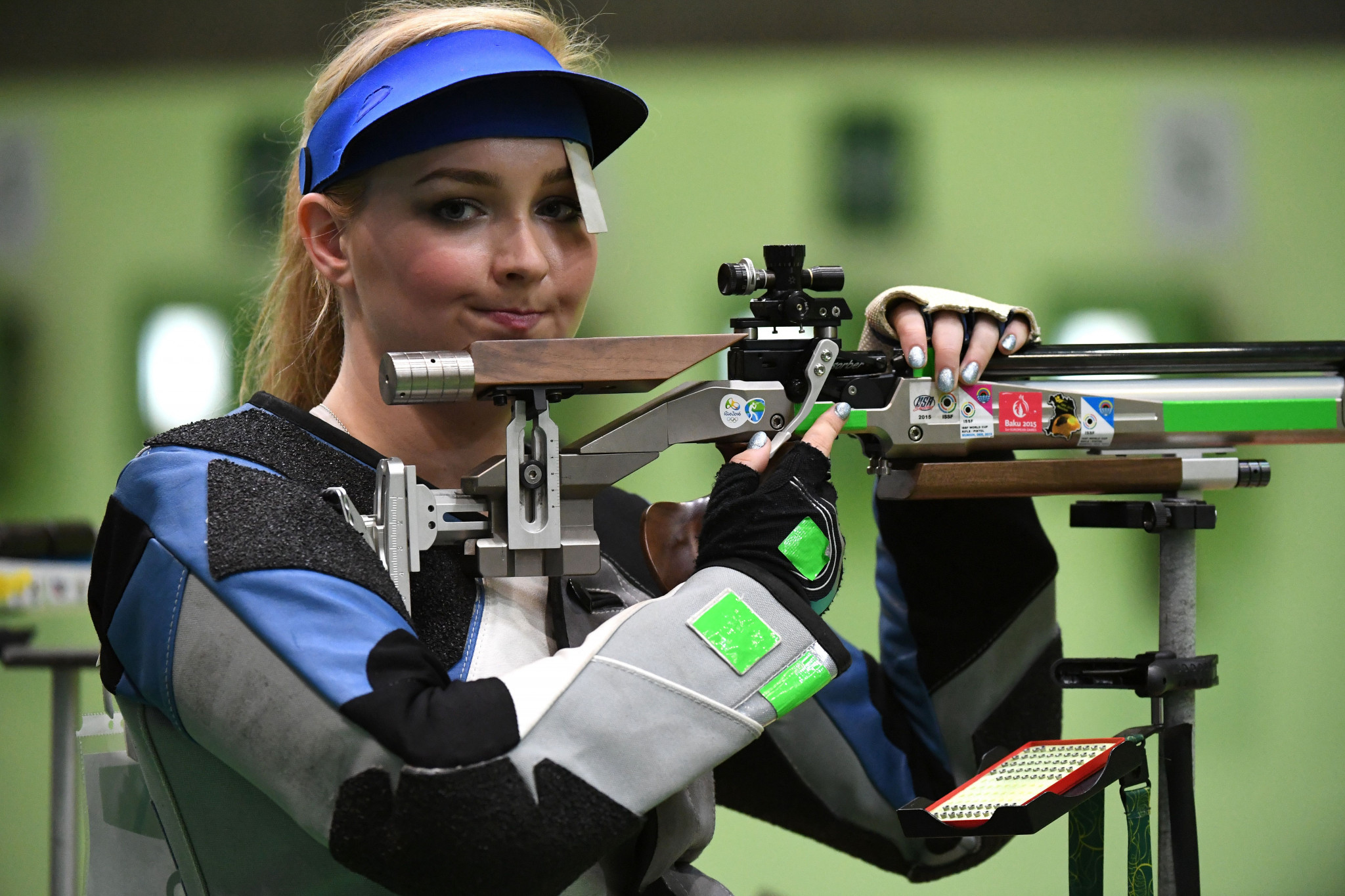 McIntosh beats younger sister to claim gold at Oceania and Commonwealth Shooting Federations' Championships